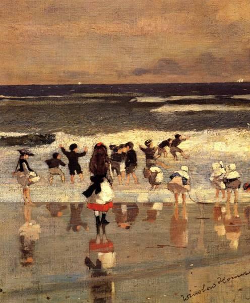 Beach Scene aka Children in the Surf